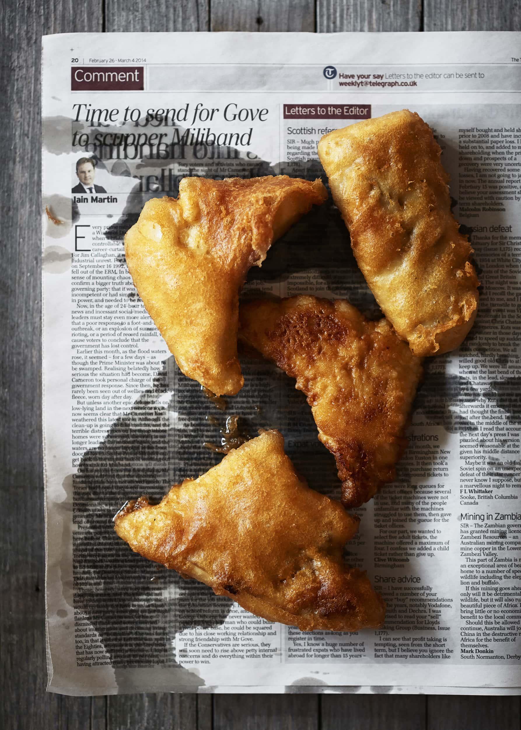 Veslemøy Vråskar – Fish & chips