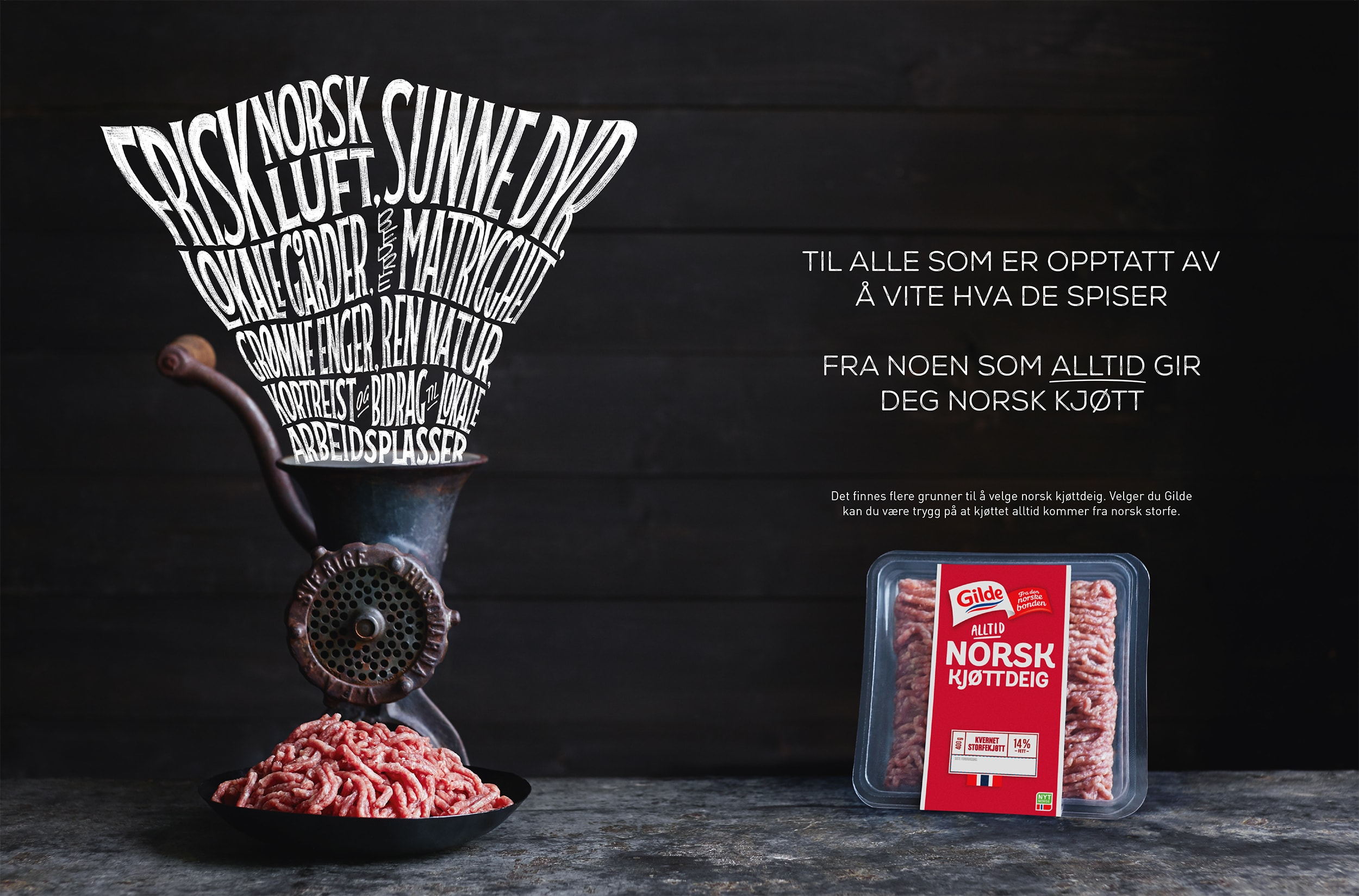 Veslemøy Vråskar – Gilde Kjøttdeig