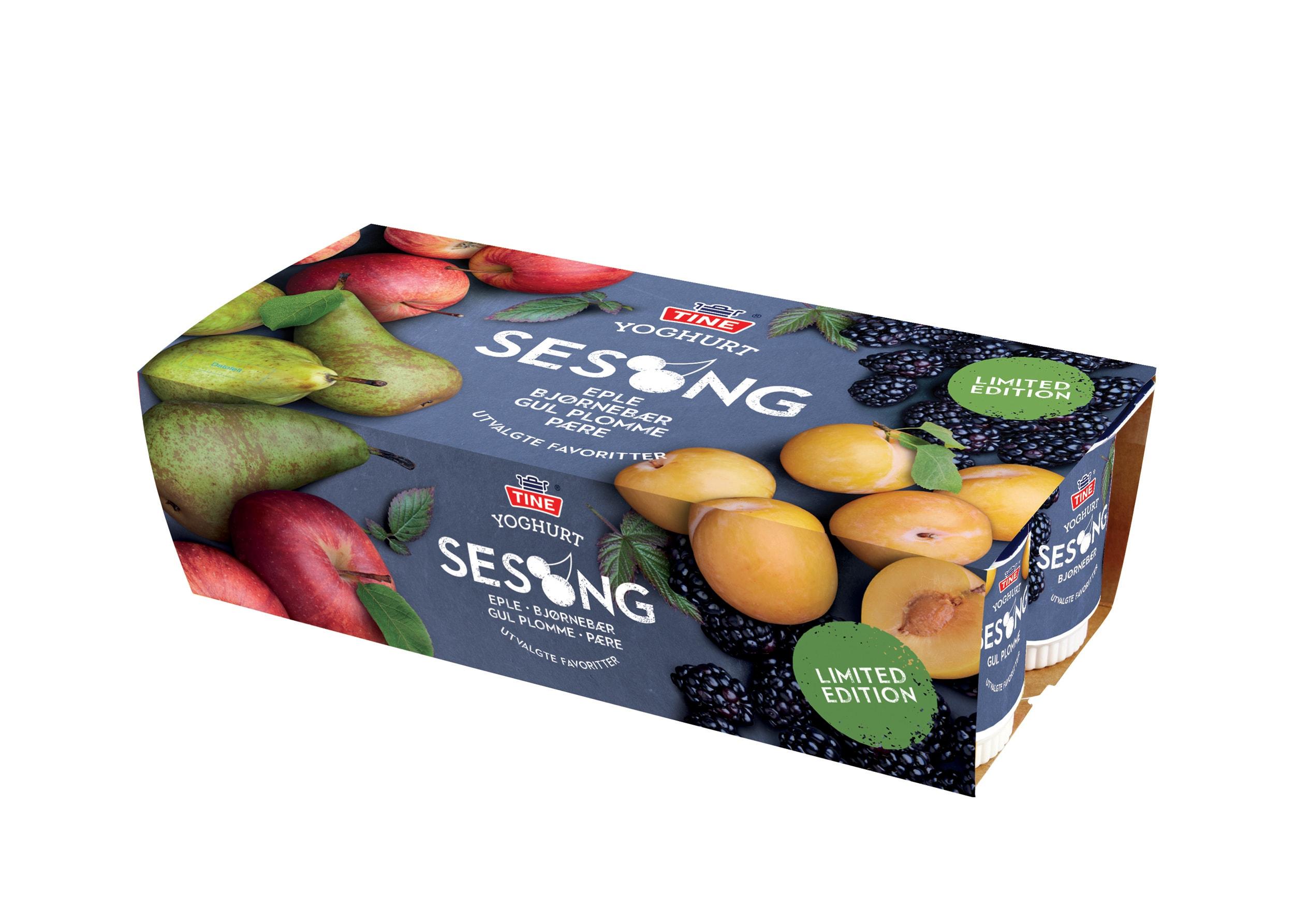 Veslemøy Vråskar – Pakning Tine yoghurt