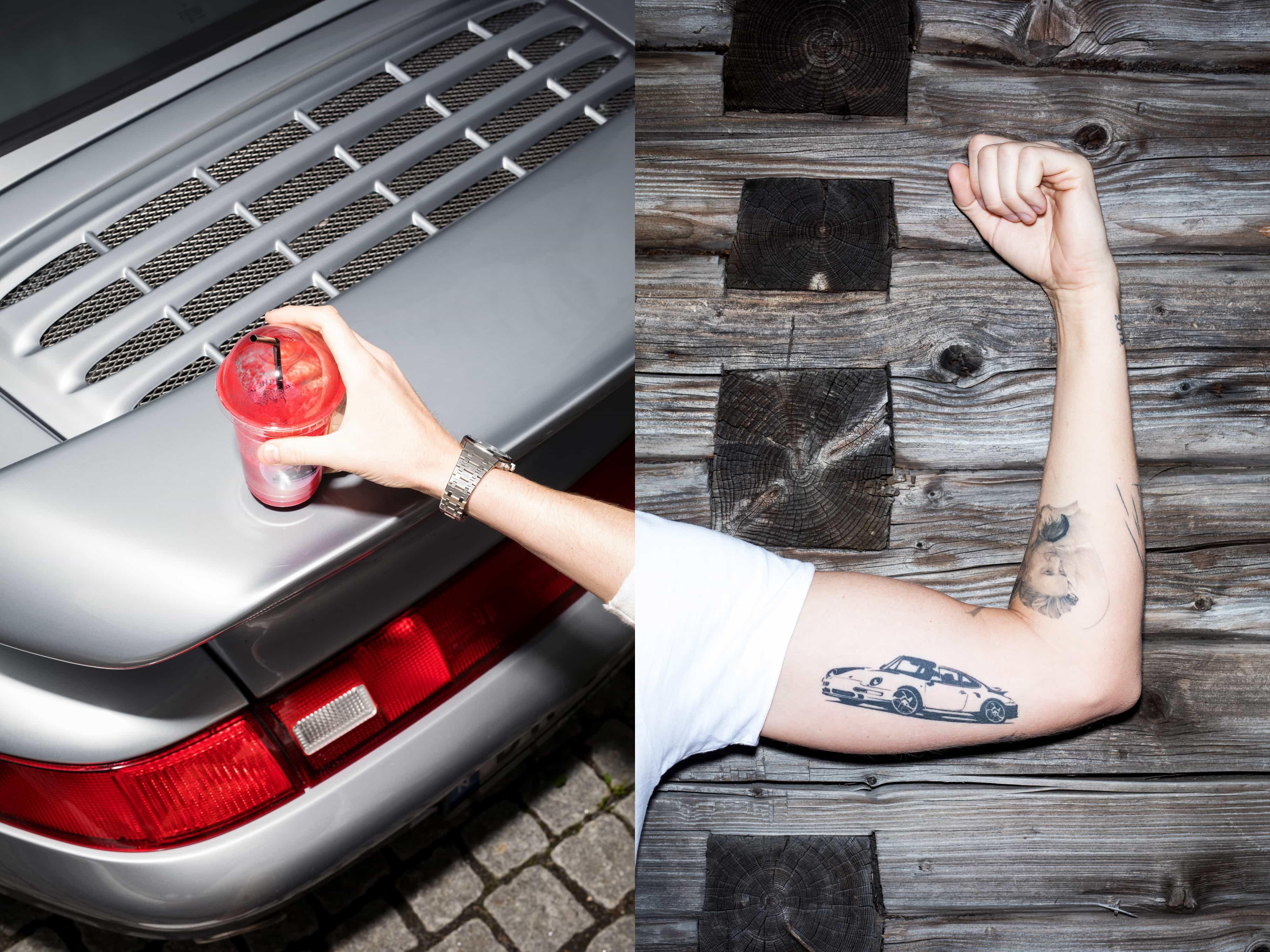Kimm Saatvedt – Andreas Arnhoff + 993 for PORSCHE mag