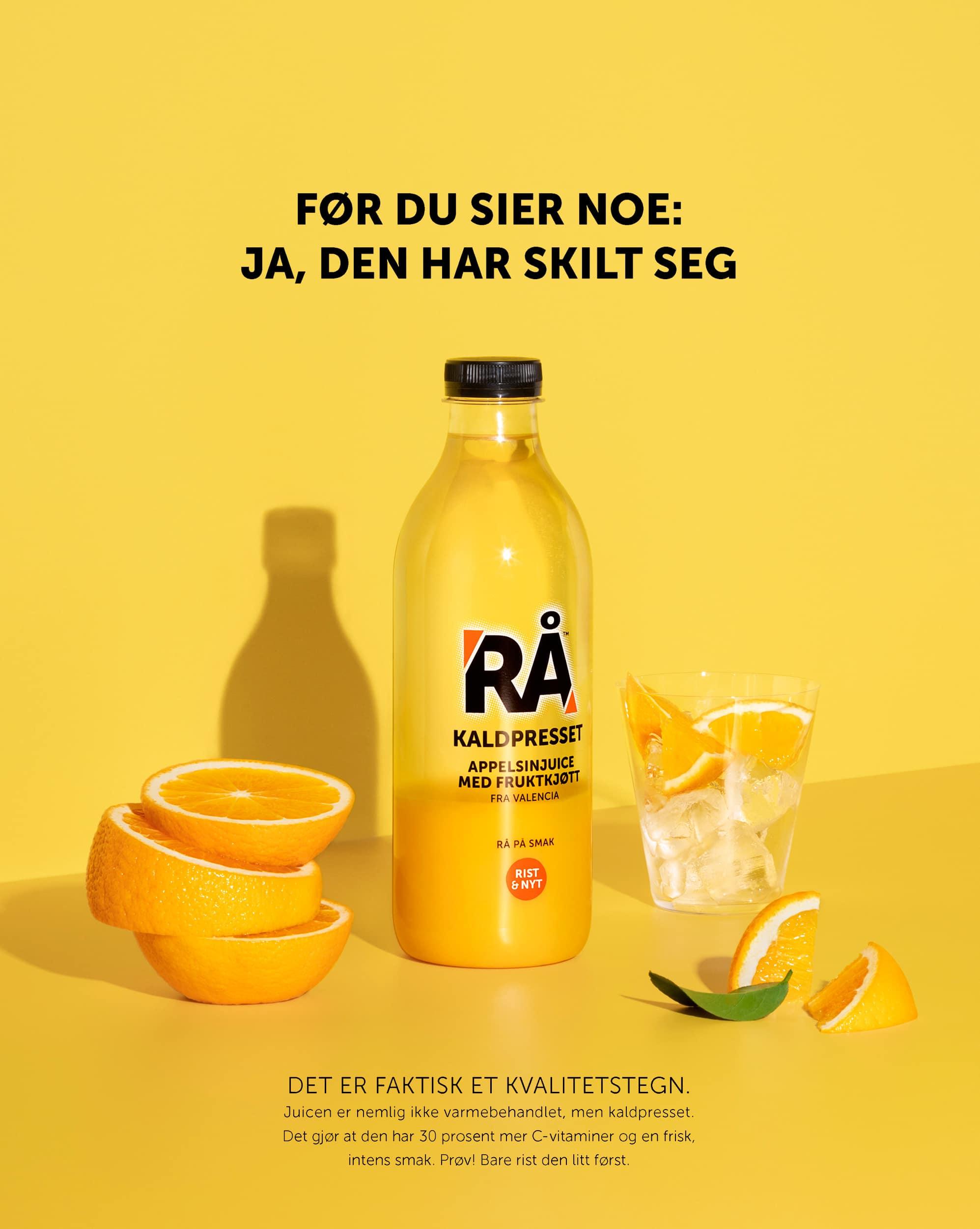 Veslemøy Vråskar – RÅ kaldpresset juice
