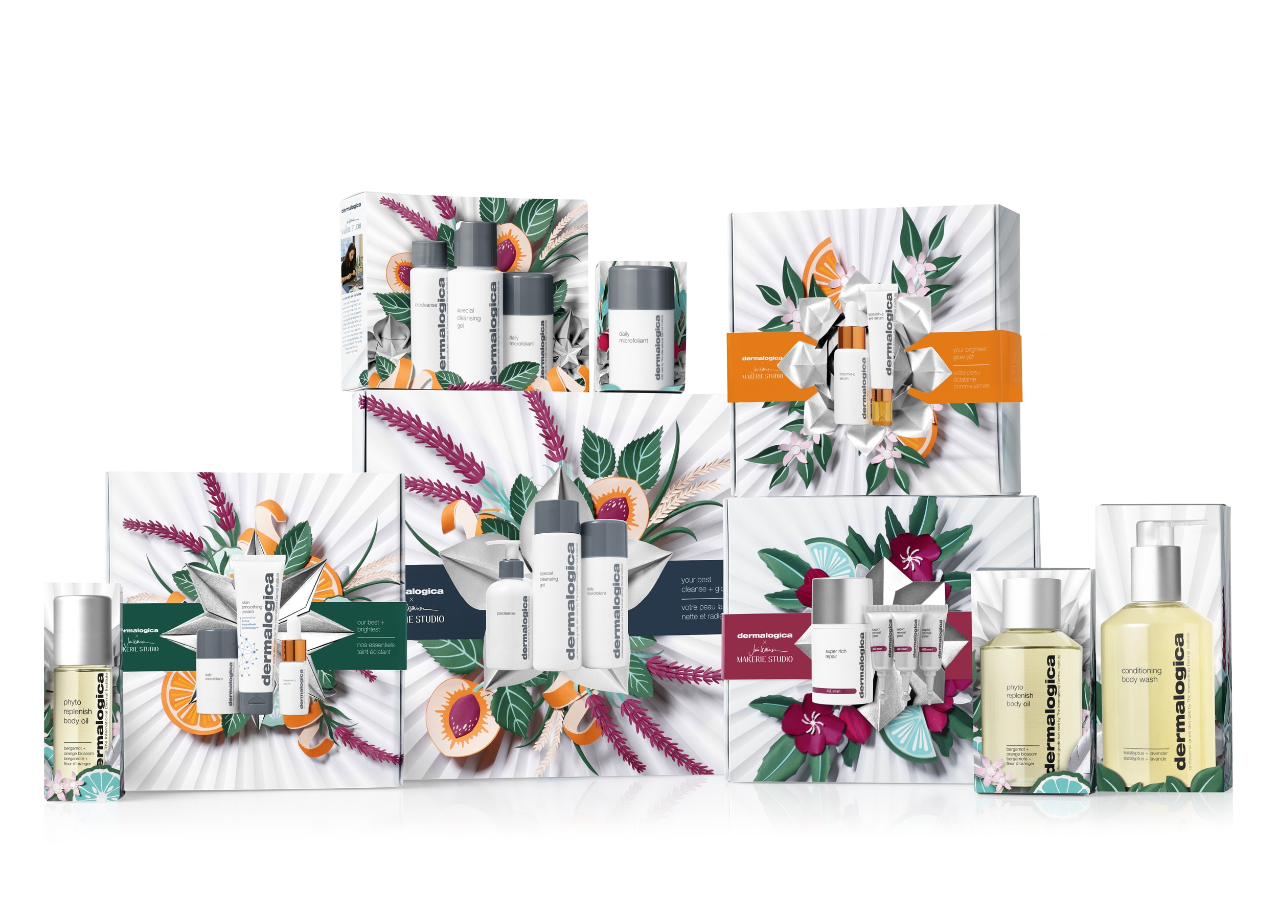Catharina Caprino – Dermalogica 2020 Holiday Packaging