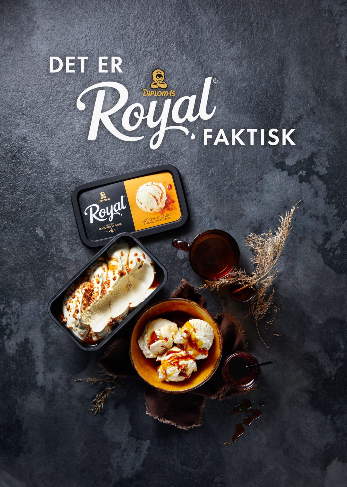 Veslemøy Vråskar – Diplom-Is Royal emballasje