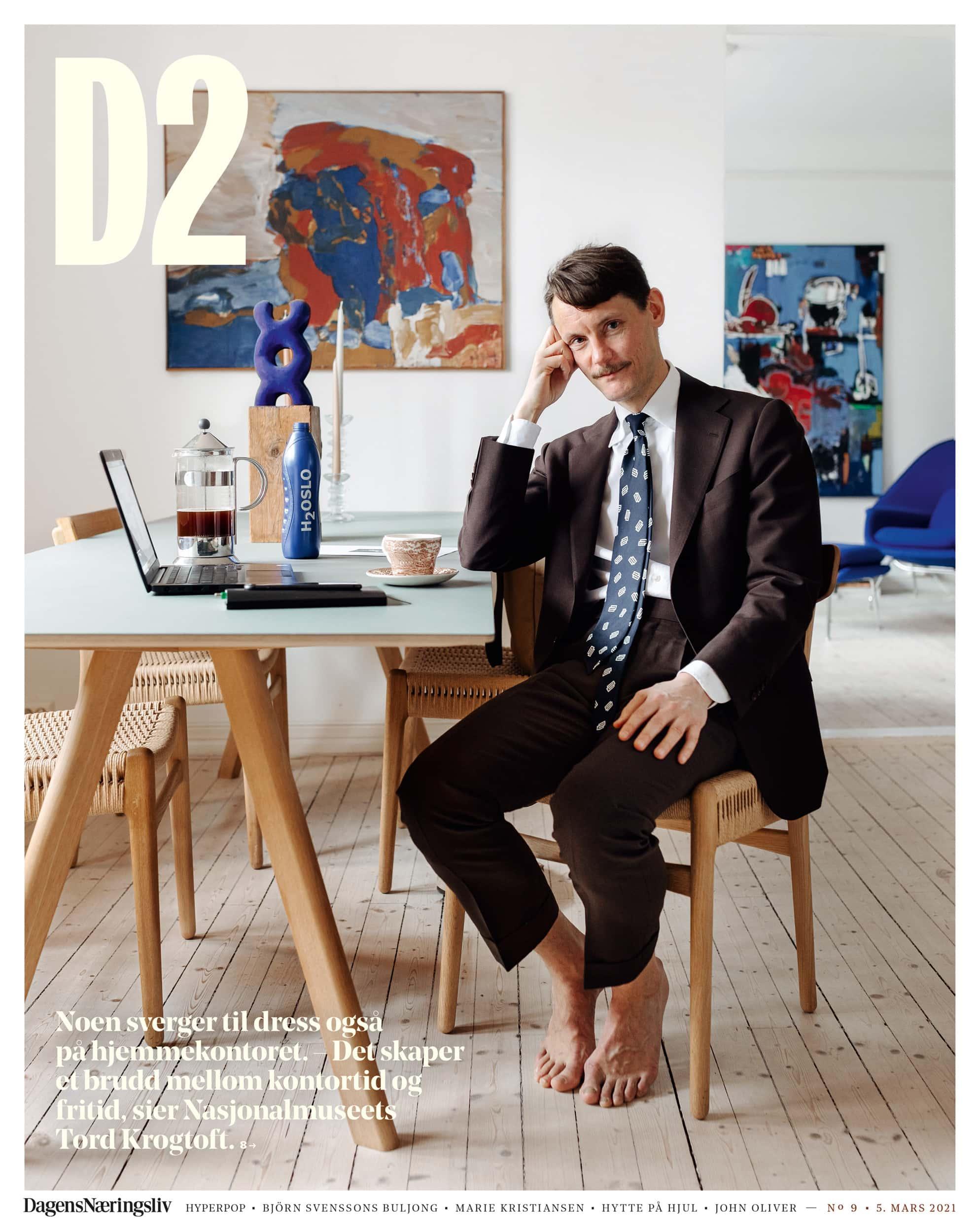 Thomas Ekström – D2 – Home office dress up